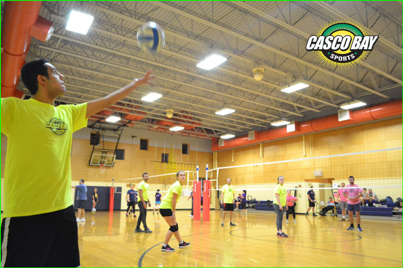 Monday Volleyball League Page