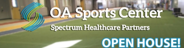 Check out the OA Sports Center Open House:  Dec. 14th